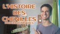 Sylvain Mallet - histoire des chenilles processionnaires